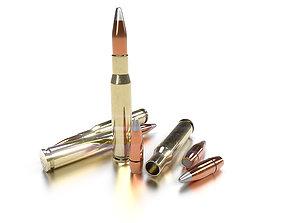 Cal 50 BMG Cartridge 3D model