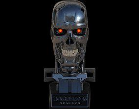 Terminator Genisys T-800 Skull Bust 3D