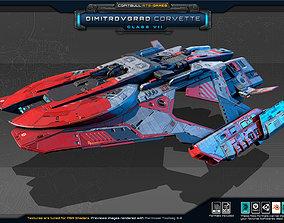 NEXTGEN - Dimitrovgrad Corvette - Class VII 3D model