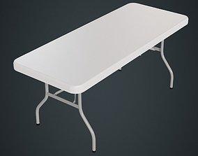 3D asset Folding Table 1A