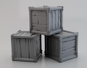 3D printable model Crate B