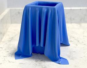 Cloth Jar Vase Cup Tumbler 3D print model
