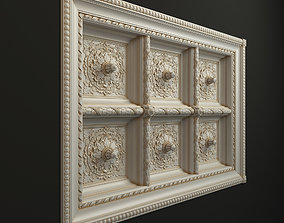 Classic Ceiling 3D model ar
