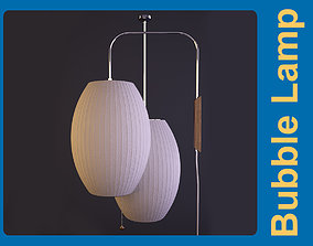 George Nelson Bubble Lamp Cigar Pendant 3D