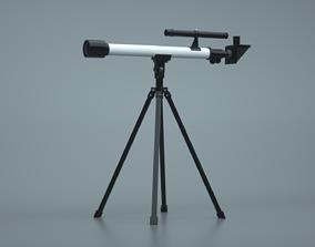 Telescope 3D PBR sky