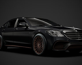 3D Mercedes-AMG S 65 Final Edition Worldwide V222 2020
