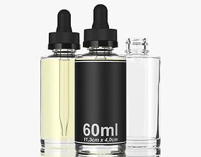 3D bottle 60ml type5 medicine