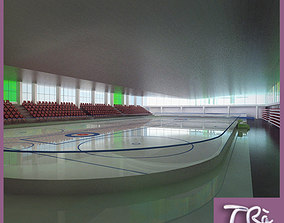 3D model INDOOR ICE SKATING RINK