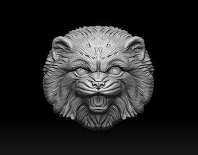 Cat Pallass manul 3D print model
