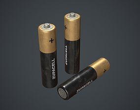 Battery AA 3D model