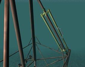 Seahorse repair clamp 3D