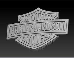 3D print model Harley Davidson Logo