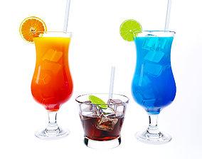 coke 3D model Cocktails