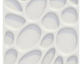 3D model wall panel bionic