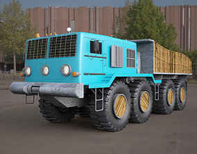 MA3-537 truck 3D model