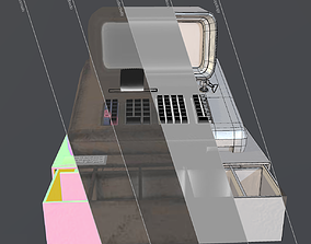 3D asset Counter Machine or Cash register