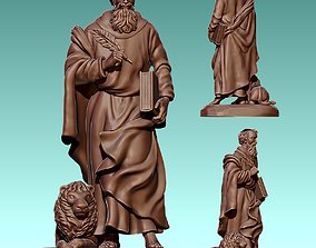 Mark Evangelist - CNC Router Carving 3D print model