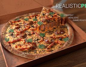 realistic Pizza 3D model
