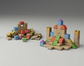 3D model Children Toy Bricks