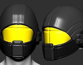 High quality scifi helmet high poly 2