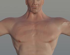 game-ready Human Basic Model - Muscular