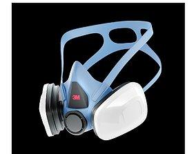3M Respirator 3D model