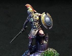 warrior greek 3d print model Achille 35 mm