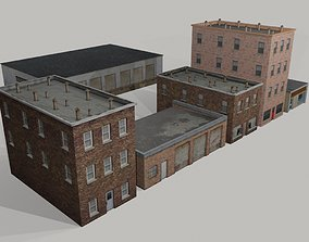 3D model realtime Old Buildings