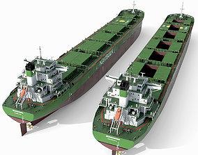 3D Bulk carrier Green