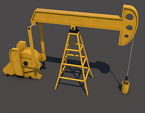 3D Oil Pumpjack