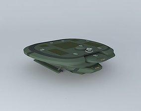 3D model XD Cerber Space destroyer class