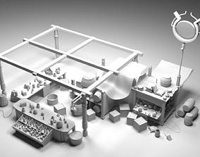 3D model HIGHMARKET