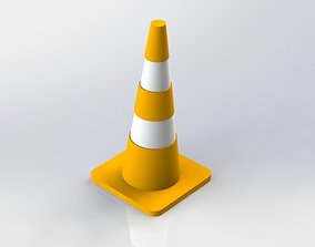 3D printable model Traffic cone