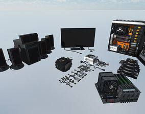3D asset Expensive computer devices