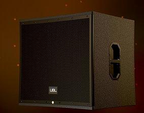 Subwoofer Speaker - PBR 4K 3D asset