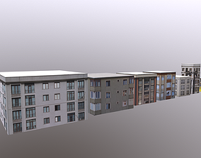 7 Apartment with textures 3D model realtime