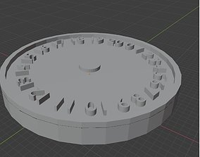 Omega Army 0-20 Wound Tracker 3D print model