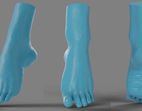 3D printable model Woman foot
