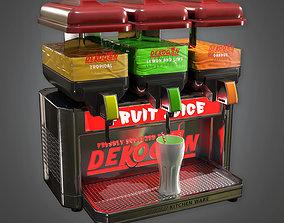 3D asset Juicer and Smoothie Dispenser KTC - PBR Game