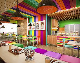 cafe 3D Japanesse Cafe Itadaikimasu