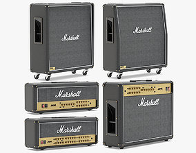 Marshall Speakers Collection 3D model