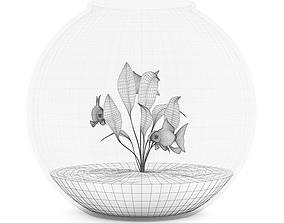 Small Spherical Aquarium 3D