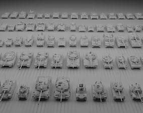 3D model 69 Tanks Bundle