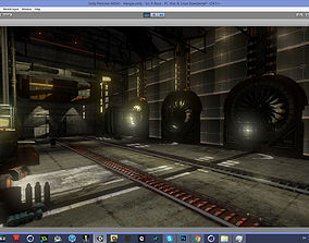 3D asset Abandoned Base Level Design Props