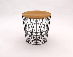 SIDE TABLE---Basket 3D