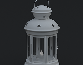Tea Light Lantern 3D model