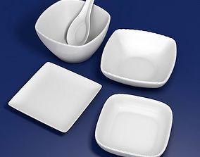 Tableware kit for 3D print