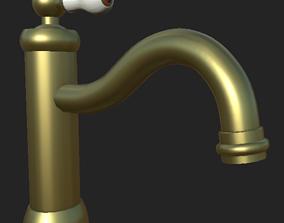 Hamnskar Water-mixer 3D model game-ready