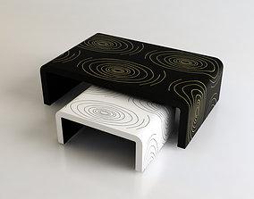 Exotic Tables set 3D model