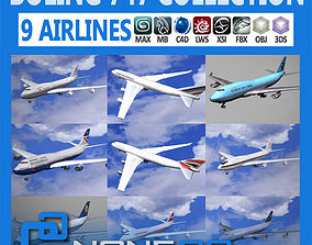 Pack - 747 Collection 3D